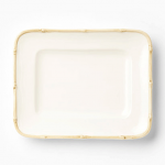 Vietri Bambu Natural Small Rectangular Platter