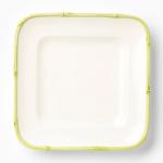 Vietri Bambu Celadon Square Platter