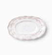 Vietri Bellezza White Small Oval Platter