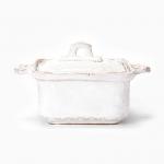 Vietri Bellezza White Square Oven Casserole