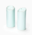 Vietri Lastra Aqua Salt and Pepper