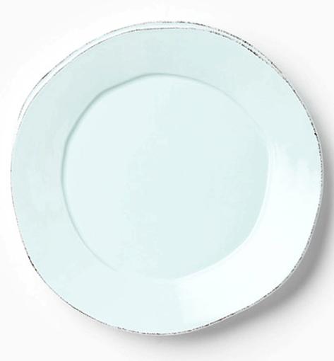 Vietri Lastra Aqua Round Platter 1