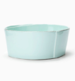 Vietri Lastra Aqua Medium Serving Bowl