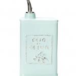 Vietri Lastra Aqua Olive Oil Can