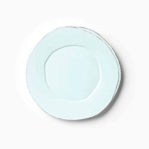 Vietri Lastra Aqua European Dinner Plate