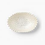 Vietri Bliss Glass Medium Oval Bowl