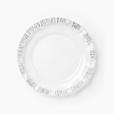 Vietri Ruffle Glass Platinum Service Plate/Charger