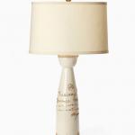 Vietri Tuscany Script Lamp