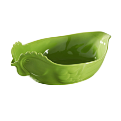 Revol Happy Cuisine Large Poultry Dish Lime Green