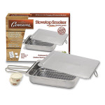 Cameron Stainless Steel Smoker with Wood Chips Box