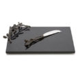 Michael Aram Olive Branch Cheese Board and Knife