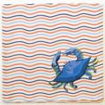 Blue Crab Napkin