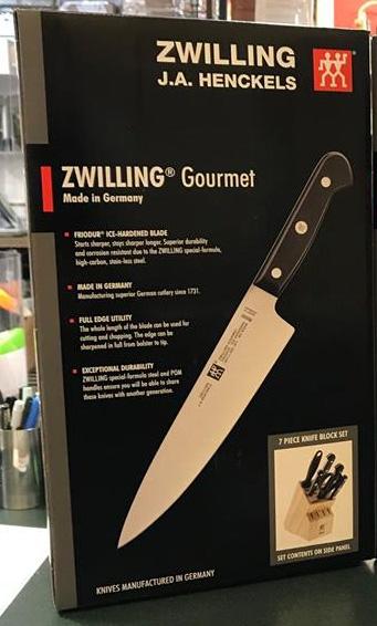 Zwilling JA Henckels Gourmet 7 Piece Knife Block Set