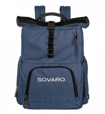 Sovaro Soft Sided Backpack Cooler Blue Le Cookery Usa