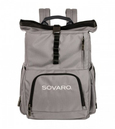 39310a3d2b Sovaro Soft Sided Backpack Cooler Gray - Le Cookery USA